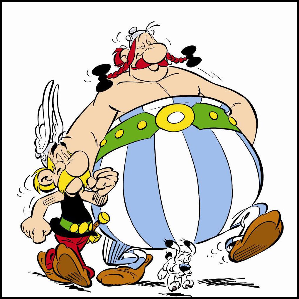 Citaten Asterix En Obelix : Asterix en obelix nemen leicester aan de hand tegen julius